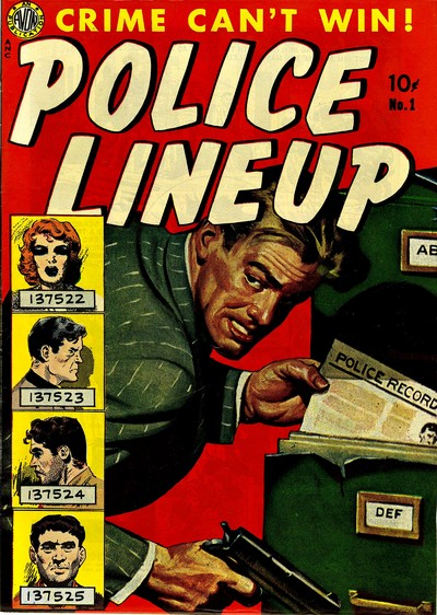 Police Line-Up #1 – 4 (1951)