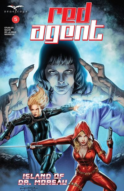 Red Agent – Island of Dr. Moreau #5 (2020)