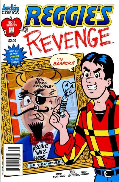 Reggie's Revenge #1 – 3 (1994-1995)