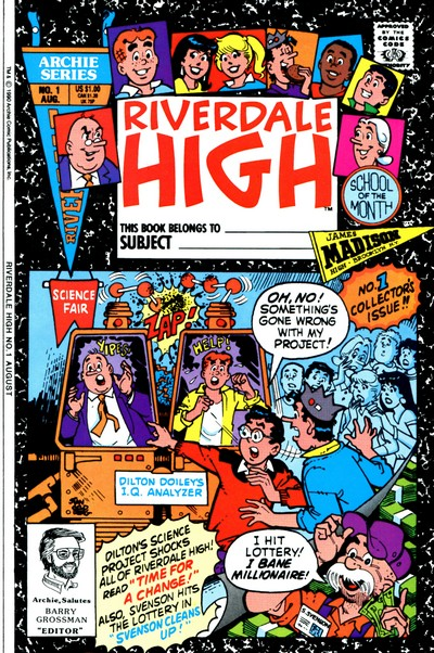 Riverdale High + Archie's Riverdale High #1 – 8 (1990-1991)