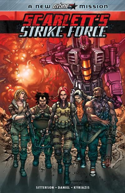 Scarlett's Strike Force (TPB) (2018)