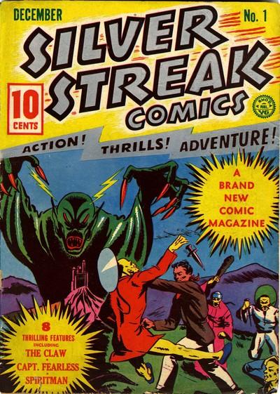 Silver Streak Comics #1 – 24 (1939-1946 + 2009)