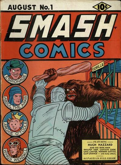 Smash Comics #1 – 85 (1939-1949)