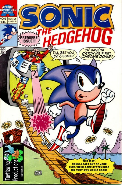 Sonic the Hedgehog #1 – 4 (1993)
