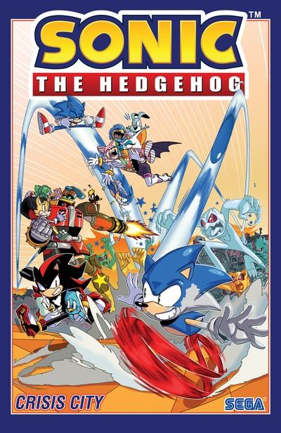 Sonic the Hedgehog Vol. 5 – Crisis City (TPB) (2020)