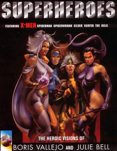 Superheroes – The Heroic Visions of Boris Vallejo and Julie Bell (2000)