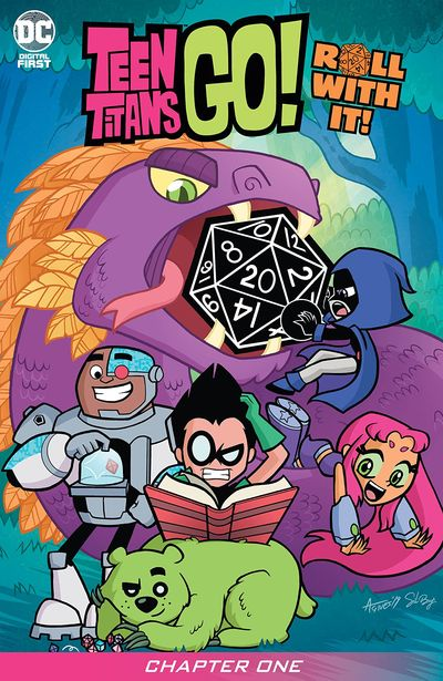 Teen Titans Go! Roll With It! #1 (2020)