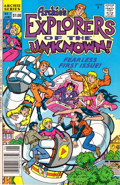 Archie's Explorers of the Unknown #1 – 6 (1990)