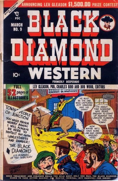 Black Diamond Western #9 – 60 (1949-1956)