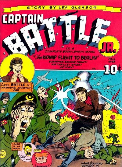 Captain Jr. + Boy Comics #1 – 119 (1943-1956)