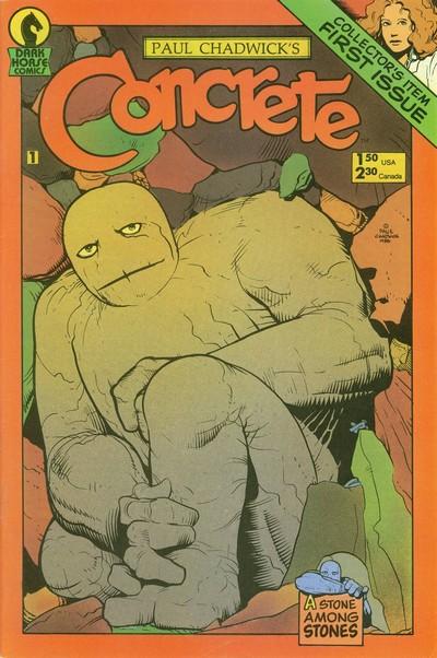 Concrete #1 – 10 (1987-1988)