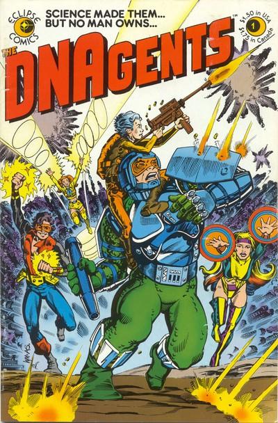 DNAgents #1 – 24 (1983-1985)