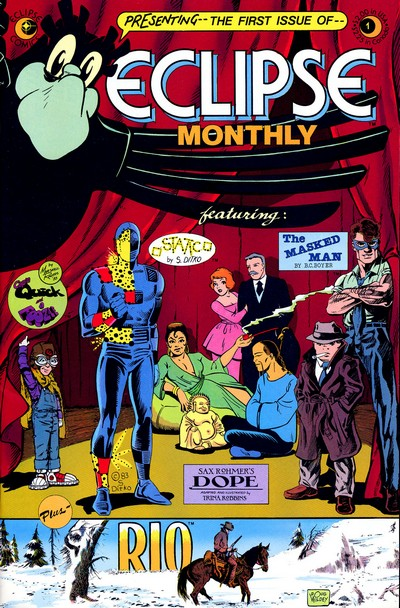 Eclipse Monthly #1 – 10 (1984)