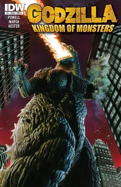 Godzilla – Kingdom of Monsters #1 – 12 + TPB (2011-2012)