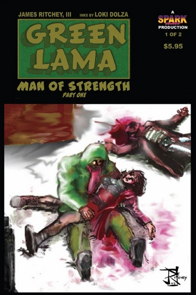 Green Lama – Man of Strength #1 – 2 (2007-2009)
