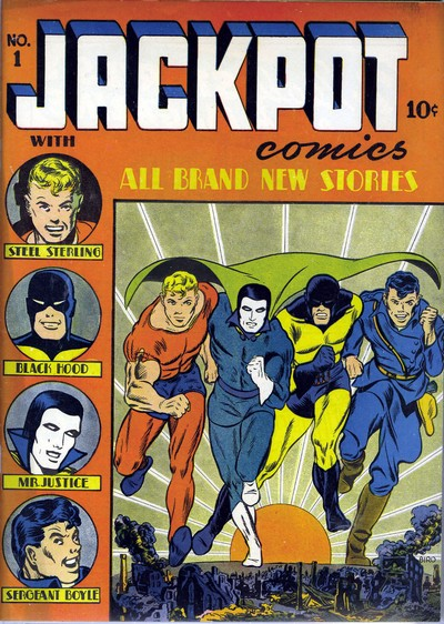Jackpot Comics #1 – 9 (1941-1943)