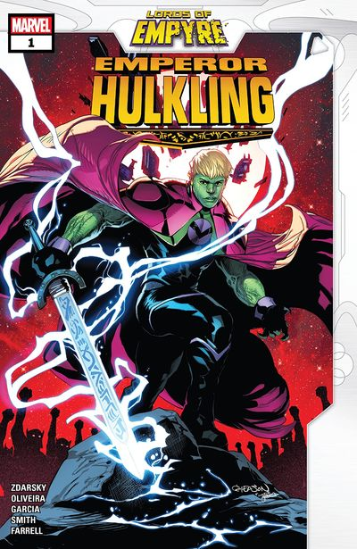 Lords Of Empyre – Emperor Hulkling #1 (2020)