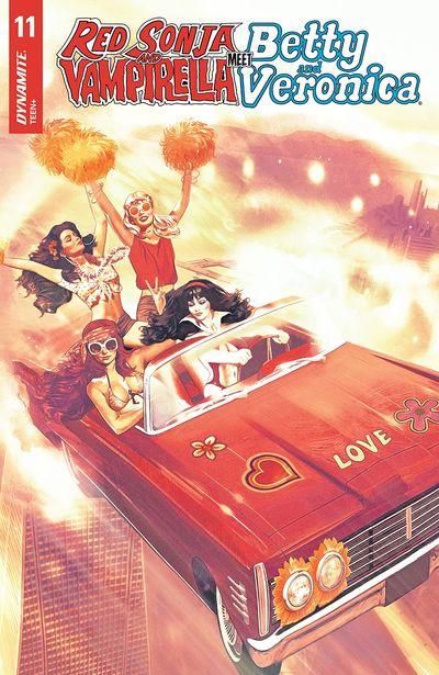 Red Sonja And Vampirella Meet Betty And Veronica #11 (2020)