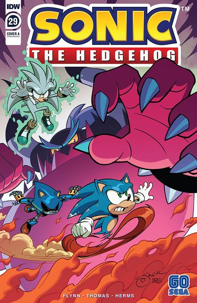 Sonic The Hedgehog #29 (2020)