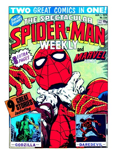 Spectacular Spider-Man Weekly #334 – 370 (1979-1980) (Marvel UK)