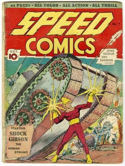 Speed Comics #1 – 44 (1939-1947)