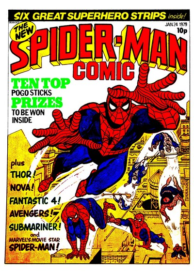 Spider-Man Comic #311 – 333 (1979) (Marvel UK)