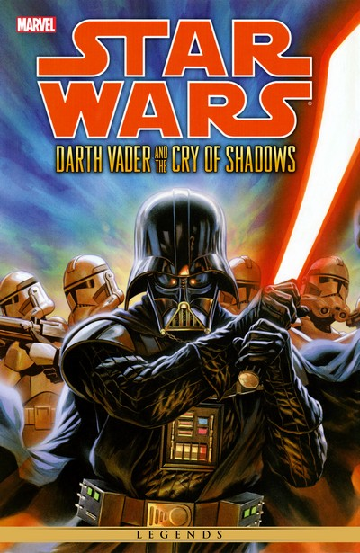 Star Wars – Darth Vader And The Cry Of Shadows (2014) (Fan Made TPB)