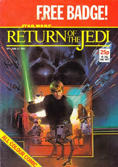 Star Wars – Return of the Jedi #1 – 155 + Extras (1983-1986) (Marvel UK)
