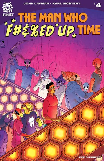 The Man Who Effed Up Time #4 (2020)