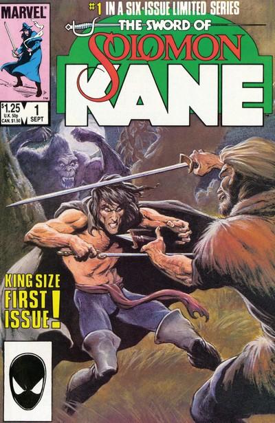 The Sword of Solomon Kane #1 – 6 (1985-1986)