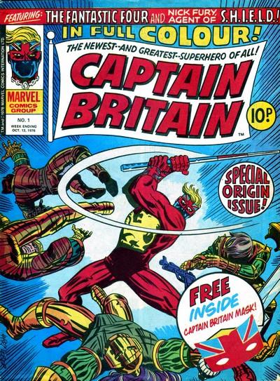 Captain Britain Vol. 1 #1 – 39 (1976-1977)