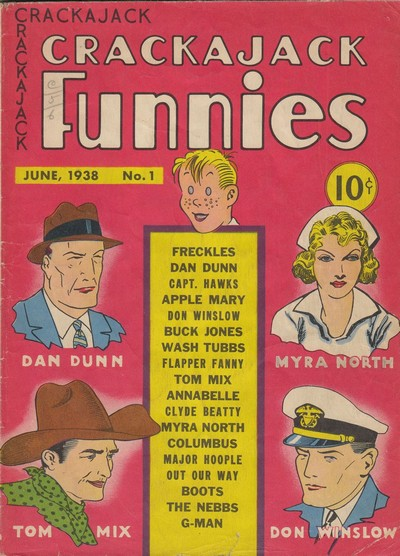 Crackajack Funnies #1 – 43 + Extras (1938-1942)