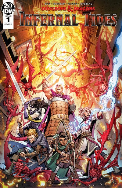 Dungeons and Dragons – Infernal Tides #1 – 5 (2019-2020)