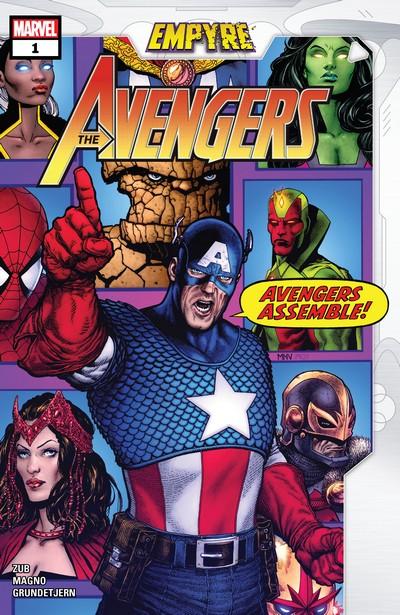 Empyre – Avengers #1 – 3 (2020)