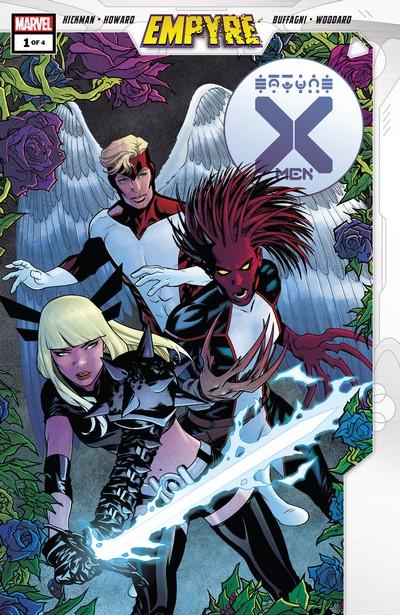 Empyre – X-Men #1 – 4 (2020)