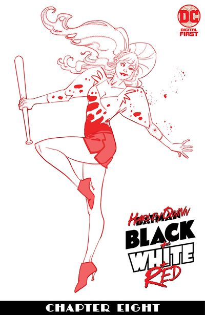 Harley Quinn Black + White + Red #8 (2020)