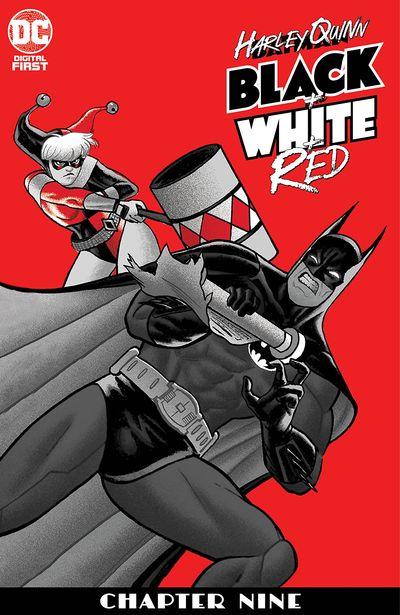 Harley Quinn Black + White + Red #9 (2020)