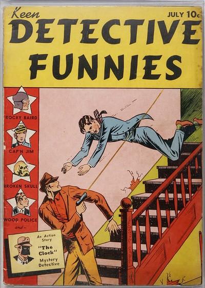 Keen Detective Funnies #1 – 24 (1938-1940)