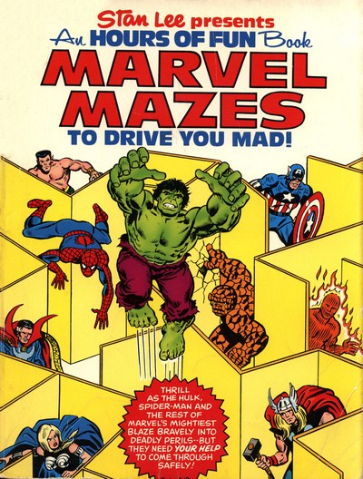 Marvel Mazes To Drive You Mad (1978)