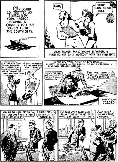 Phantom Daily Strips (1936-2020)