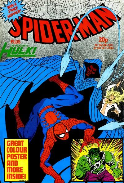 Spider-Man #501 – 539 (1982-1983) (Marvel UK)
