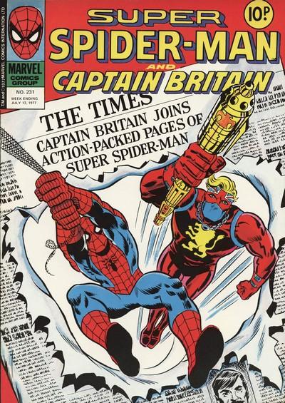 Super Spider-Man and Captain Britain #231 – 253 (1977)