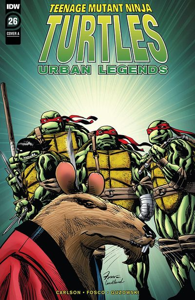 Teenage Mutant Ninja Turtles – Urban Legends #26 (2020)