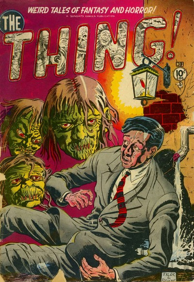 The Thing #1 – 17 (1952-1954)