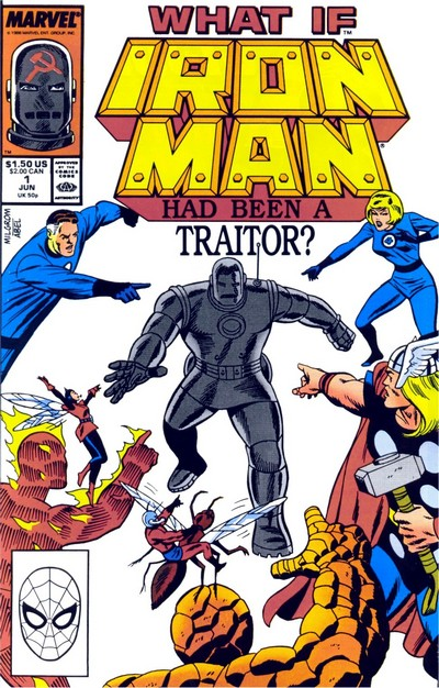 What If Special #1 – Iron Man Had Been a Traitor (1988)