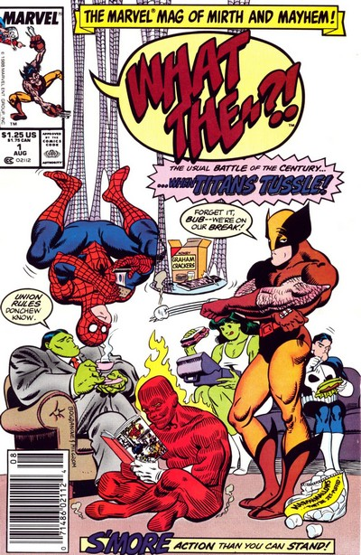 What The–?! #1 – 26 (1988-1993)