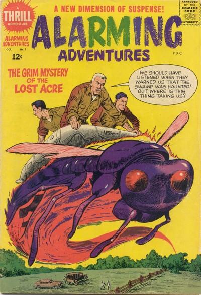 Alarming Adventures #1 – 3 (1962)