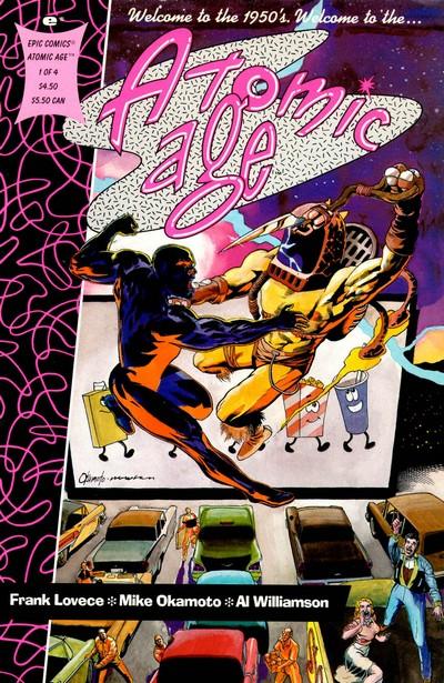 Atomic Age #1 – 4 (1990)