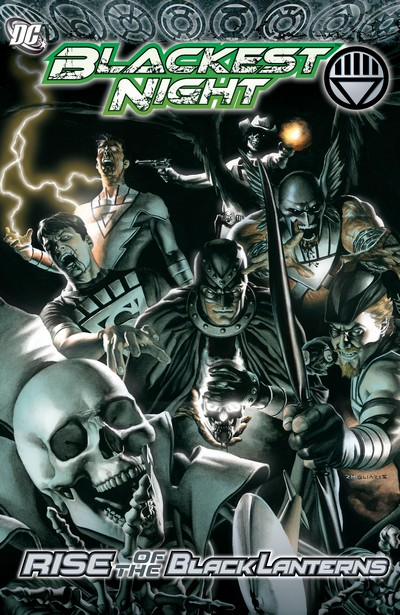 Blackest Night – Rise of the Black Lanterns (TPB) (2010)