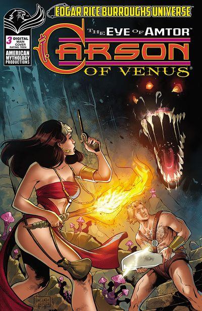 Carson of Venus – The Eye of Amtor #3 (2020)
